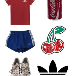 freetoedit ネップリ adidas cocacola cherry