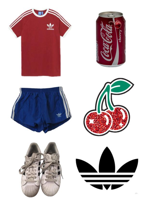 #freetoedit #ネップリ #adidas #cocacola #cherry #clothes #lfl
