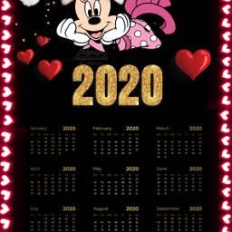 freetoedit calendario 2020 lucymy noedit