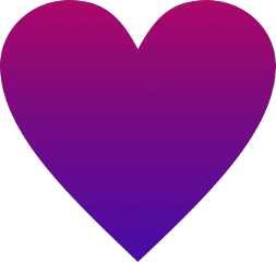 freetoedit gradient heart love purple