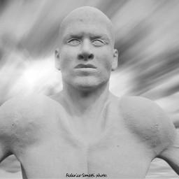 freetoedit blackandwhite blacknwhite photography statue