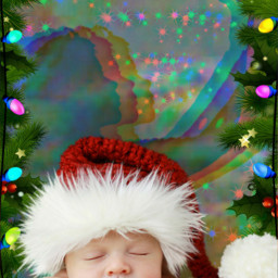 freetoedit mystical woman christmas christmastree ircmystical