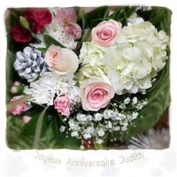 joyeuxanniversaire roses bouquet