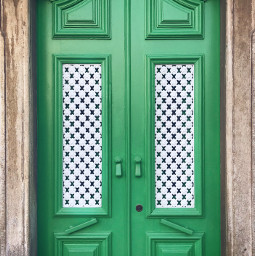 urbanexploration house door woodendoor green freetoedit