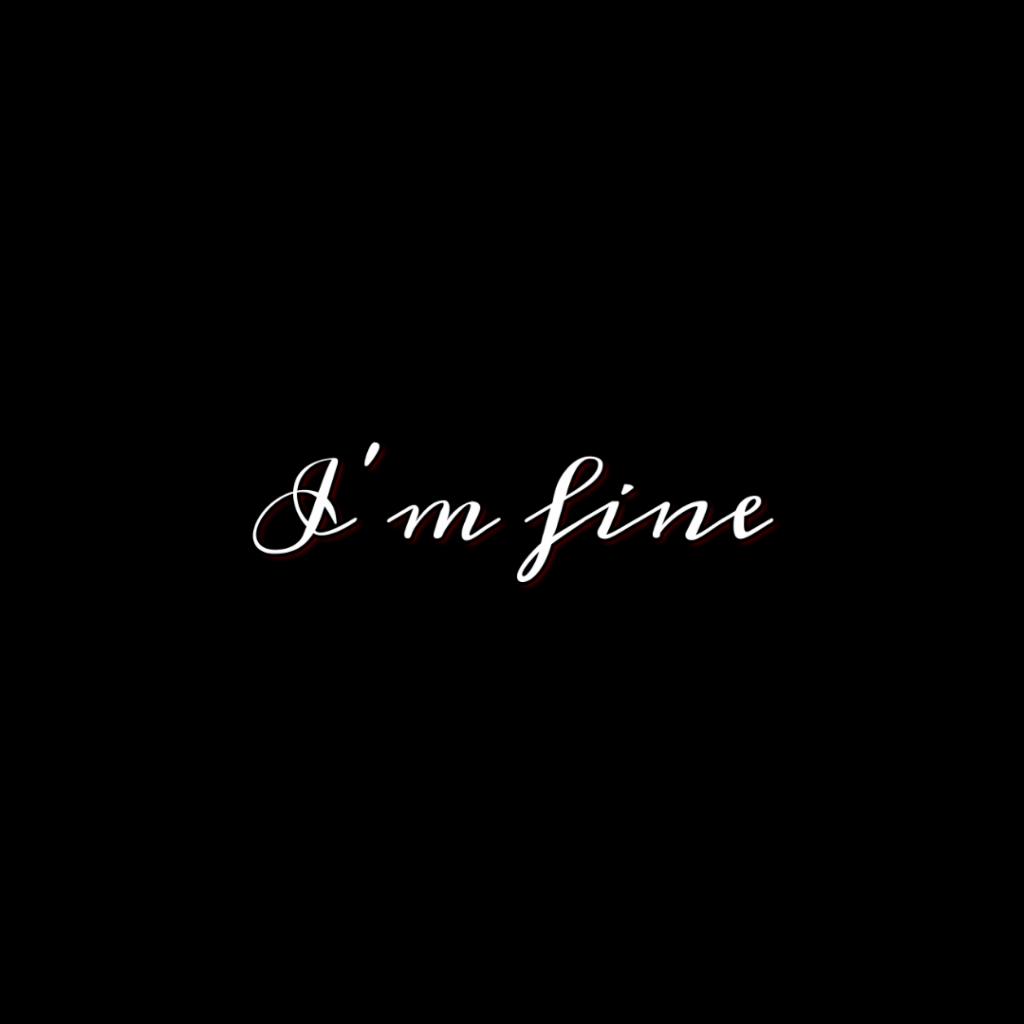 #ıamfine #saveme #text