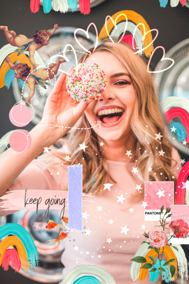 #freetoedit #aesthetic #colouful #colour #rainbows #laugh #smile #live #love #donuts #sprinkles #enjoy #flowers #keepgoing #quote #bright #stars #glitter #perfect