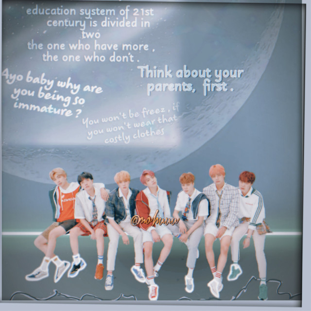The message in it , is about how kids these being so heartless to their parents and ask for the stuff which maybe sometime parents can't give you , but you should understand your parents and respect them.❤️  Group - BTS . Lyrics - Spine breaker . Style - my original. Editing by-  Me . Edited from  PicsArt.    Kindly request to not copy without giving Credits of anyone's work .💜      #bts #text  #kpop  #jungkook  #aesthetic   #freetoedit  @pa