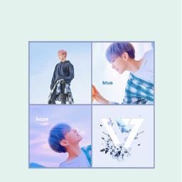 seventeen hoshi sunyoung kpop blue