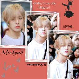minhyuk monstax pink photography seoul freetoedit