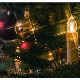 xmas christmas tree candle xmasdecoration freetoedit