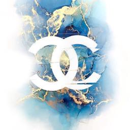 freetoedit chanel marble branding logo