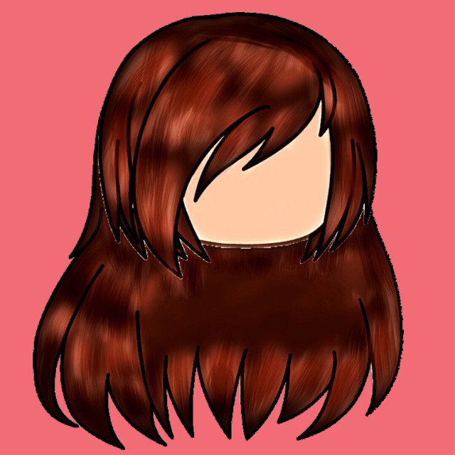 This is my first time shading qwq... kinda good I guess..? Idk lol Tagz #shading #gacha #life #hair #brown #pink #face #workkkk #timeeee #effort #patienceee #freetoedit