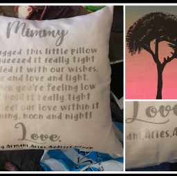 mimmy pillow tree painting gifts