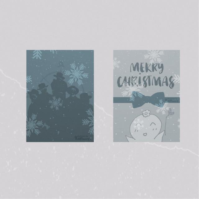 MERRY CHRISTMAS🖤🥰 Hope everyone has an amazing day💞       #freetoedit #merrychristmas #ateez #ateezedit #kpop #kpopedit