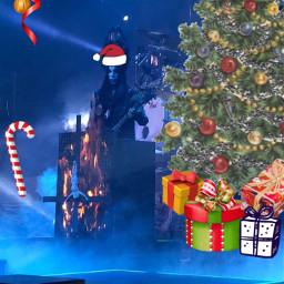 freetoedit nergal behemoth christmas