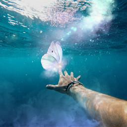 freetoedit butterfly butterflys smoke magic