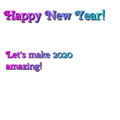 new year newyear 2020 party freetoedit