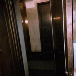 polaroid old artdeco bronze closet