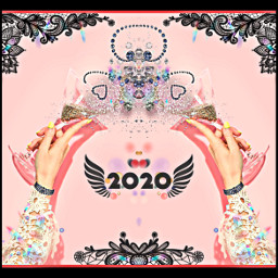 freetoedit 2020 happynewyear newyearseve clink irccelebration celebration
