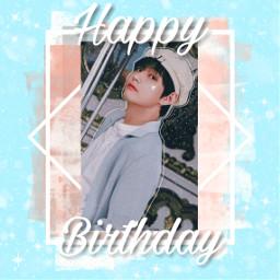 happybirthday happyvday taehyung ipurpleyou💜 freetoedit