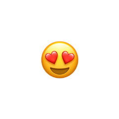 heart heartemoji hearteyes iphoneemojistickers iphone freetoedit