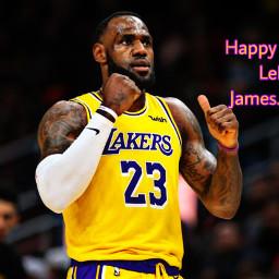 freetoedit lebronjames23 losangeleslakers nba birthday