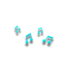 music notes blue musicnotes freetoedit