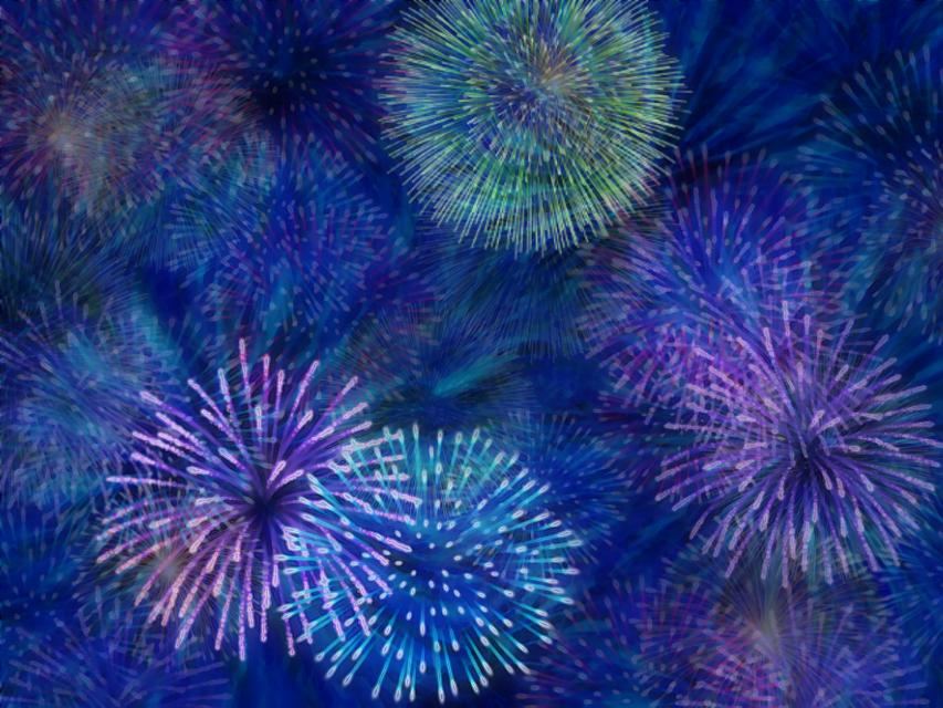 #celebrate #newyearseve #fireworksbrush  #nightsky #background #blue #madewithpicsart #fireworksbrush  #freetoedit