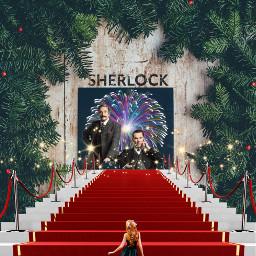 bc bbc benedictcumberbatch challenge christmas freetoedit ircholidaywallpaper holidaywallpaper