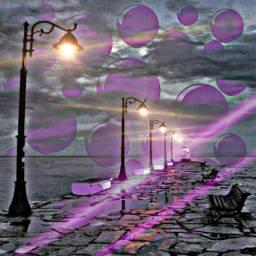 freetoedit remixed fog hazy lights