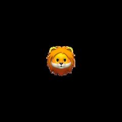 львица лев lionemoji iphoneemoji freetoedit