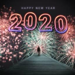 picsart happynewyear 2020 madewithpicsart art freetoedit