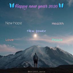 newyear2020 happynewyear hope health power freetoedit