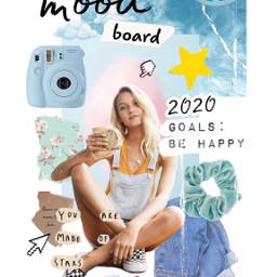 moodboard 2020 vision goals freetoedit