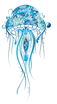 jellyfish tentacles scrapbooking coloringbook freetoedit