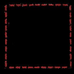 stamp frame border lines square freetoedit