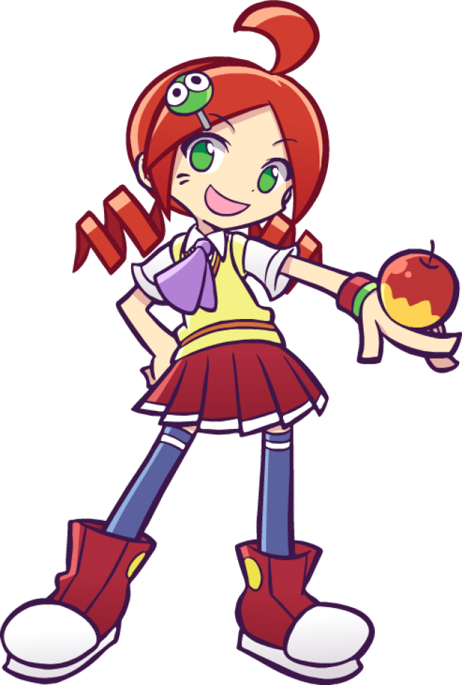 This game is so underrated in like anyplace that isnt Japan 🥺  #ringo #apple #puyo #puyopuyo #puyopuyotetris #freetoedit