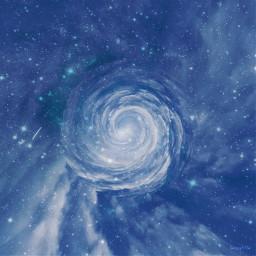 freetoedit doubleexposure sky stars tinyplaneteffect