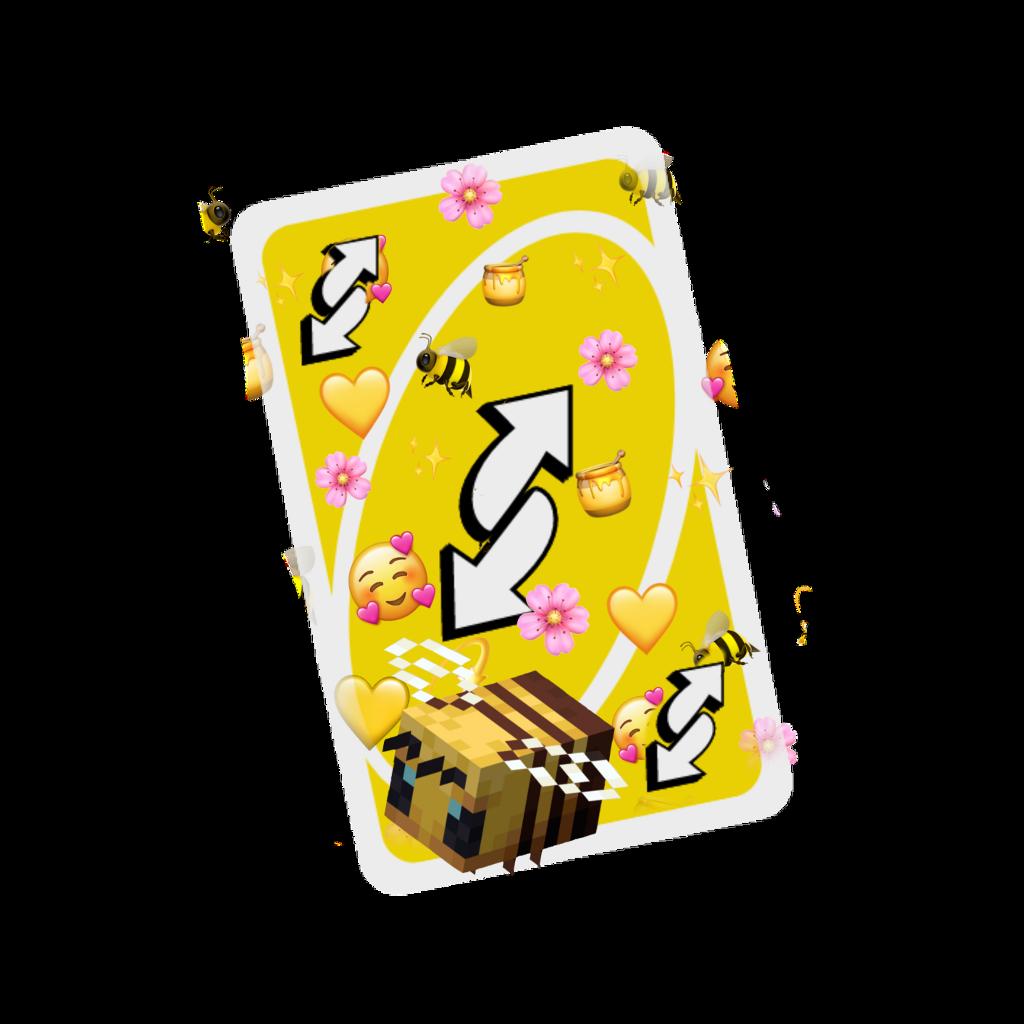 #freetoedit #uno #bee #yellow