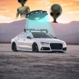 freetoedit alien car capture attack scifi