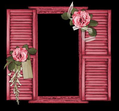 #window #pink #roses #frame #freetoedit