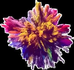 color colorexplosion colorful rainbow smoke freetoedit