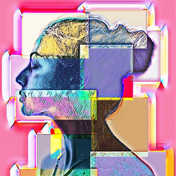 paint cubism picasso silhouette silueta ircelegantsilhouette freetoedit