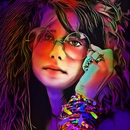 woman hippy