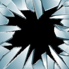 ftestickers glass broken frame borders freetoedit