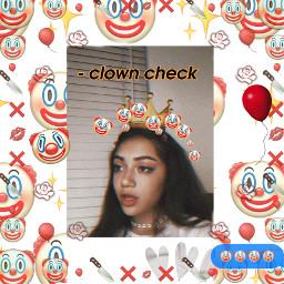 tiktok clownemoji clowncheck clown