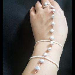 photography linkbracelet handmade handmadejewelry moonlightpearls