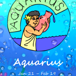 freetoedit aquarius aqua zodiac eczodiac