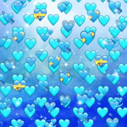 freetoedit blue background bluehearts bluebackground