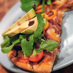 pizza vegetarian vegan homemade pizzanight